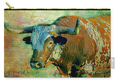 Hook 'em 1 Carry-all Pouch by Colleen Taylor