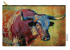 Hook 'em 2 Carry-all Pouch by Colleen Taylor