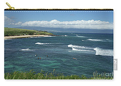 Ho'okipa Beach View From Ho'okipa Beach Park Hana Maui Carry-all Pouch