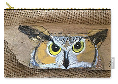 Hoot Owl Carry-all Pouch by Ann Michelle Swadener