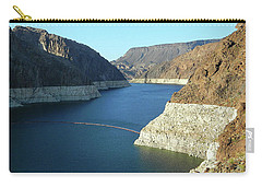 Carry-all Pouch featuring the photograph Hoover Dam In May by Emmy Marie Vickers