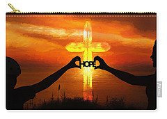 Carry-all Pouch featuring the painting Hope - Painting by Ericamaxine Price
