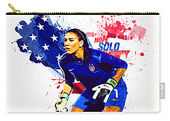 Hope Solo Carry-all Pouch by Semih Yurdabak