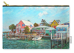 Hope Town By The Sea Carry-all Pouch