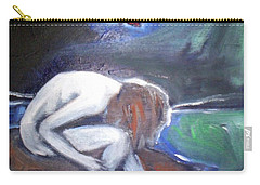 Carry-all Pouch featuring the painting Hope  by Winsome Gunning