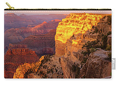 Hopi Point Sunset 2 Carry-all Pouch by Arthur Dodd