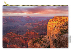 Hopi Point Sunset 3 Carry-all Pouch by Arthur Dodd