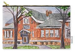 Horace Mann School Amesbury Ma Carry-all Pouch