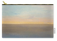 Carry-all Pouch featuring the painting Horizon Aglow by Kim Nelson