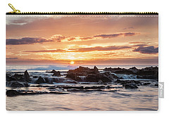 Carry-all Pouch featuring the photograph Horizon In Paradise by Heather Applegate