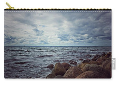 Carry-all Pouch featuring the photograph Horizon by Karen Stahlros