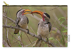 Hornbill Love Carry-all Pouch by Bruce J Robinson