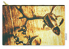 Horned Animal Rings Carry-all Pouch