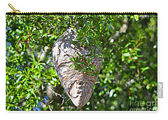 Carry-all Pouch featuring the photograph Hornets Home by Al Powell Photography USA