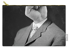 Horny Retro Portrait  Carry-all Pouch