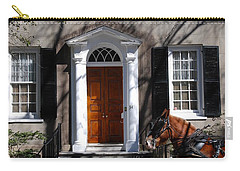Horse Carriage In Charleston Carry-all Pouch