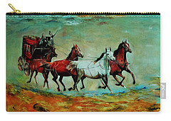 Horse Chariot Carry-all Pouch