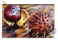 Horse Chestnut Aesculus Carry-all Pouch