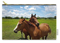 Horse Cuddles Carry-all Pouch