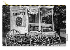Horse Drawn Ambulance  Carry-all Pouch