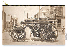 Horse Drawn Fire Engine 1910 Carry-all Pouch