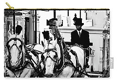 Horse Drawn Funeral Carriage Carry-all Pouch