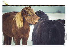 Horse Friends Forever Carry-all Pouch