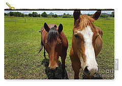 Horse Friendship Carry-all Pouch