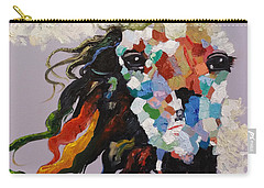 Puzzle Horse Head  Carry-all Pouch