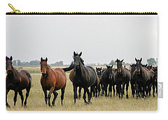 Horse Herd On The Hungarian Puszta Carry-all Pouch