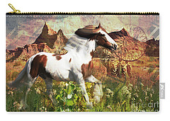 Horse Medicine 2015 Carry-all Pouch