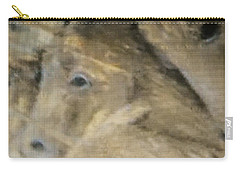 Horse Montage Carry-all Pouch by Allen Beilschmidt
