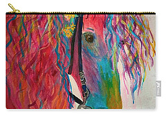 Horse Of A Different Color Carry-all Pouch