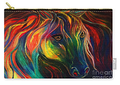 Horse Of Hope Carry-all Pouch