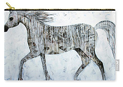 Horse Paint Carry-all Pouch by Lance Headlee