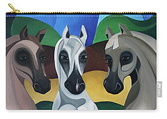 Horse Play Carry-all Pouch by Lance Headlee