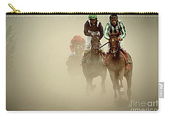 Horse Racing In Dust Carry-all Pouch