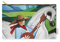 Horse Song Carry-all Pouch by Lance Headlee