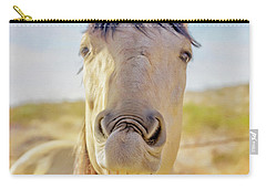Horse Talk #2  Carry-all Pouch