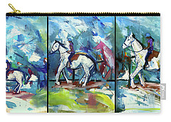 Horse Three Carry-all Pouch