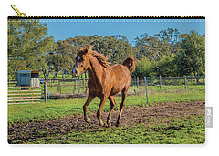 Horse Trot  Carry-all Pouch