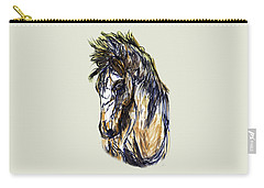 Horse Twins II Carry-all Pouch