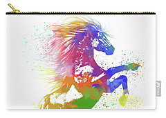 Horse Watercolor 1 Carry-all Pouch