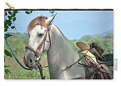Horse With No Name Carry-all Pouch by Jim Walls PhotoArtist