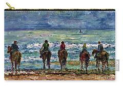 Horseback Beach Memories Carry-all Pouch