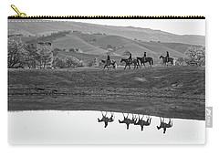 Horseback Landscape Carry-all Pouch