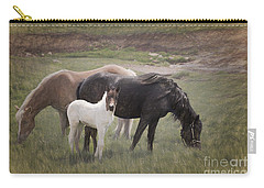 Horses And Colt  Carry-all Pouch