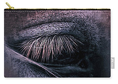 Horses Eye-color Carry-all Pouch