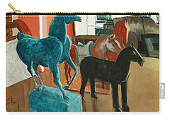 Horses Four Carry-all Pouch