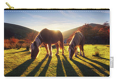 Horses In Austigarmin Carry-all Pouch